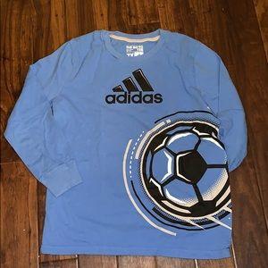 Adidas Boys long sleeve tee